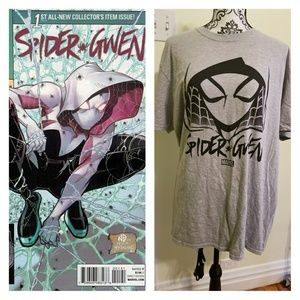 L Marvel SpiderGwen Collector Shirt